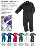 Zip Front Boiler Suit (Chest size 34 - 54)